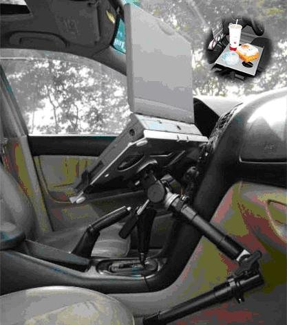 vehicle laptop holder